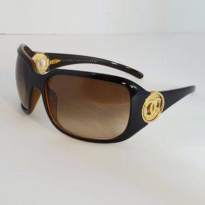 CHANEL CC Logo Sunglasses 6023 *Brown & Gold*Case*